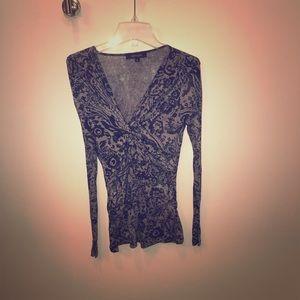 Long sleeve Karen Kane shirt