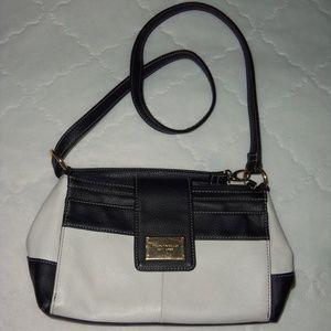 Tignanello purse leather cross body bag