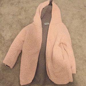 Ecote Reversible Fuzzy Jacket