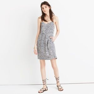 {MADEWELL} Sunlight Painted Feather Camisole Dress