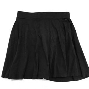 Victoria's Secret PINK Black Skater Skirt