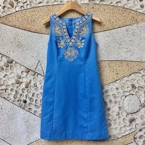 Lilly Pulitzer blue dress