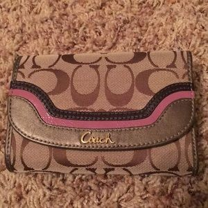 Vintage coach wallet