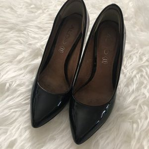 Aldo Pointed Toe Genuine Leather Heels • Size 36