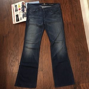 "7 for All Mankind ""A"" Pocket Flare 30"