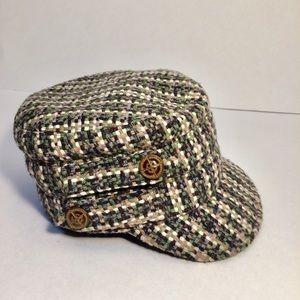 Tweed Newsboy Cap Cadet from San Diego Hat Company