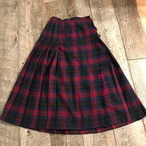 Vintage Pendleton wool skirt