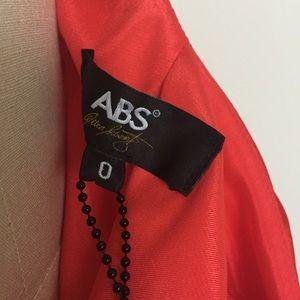 55ee6ce9e602 ABS Allen Schwartz Dresses - NWT ABS by Allen Schwartz Flame Car Wash Slip  Gown