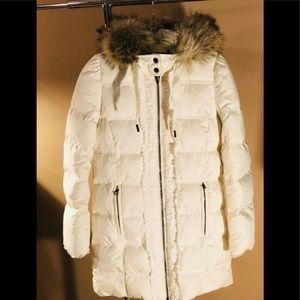 W- Petite S - a great winter coat/snow Coat. Great