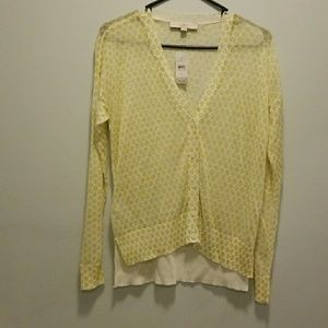 New Loft V-neck cardigan