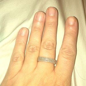 Jewelry - Diamond Ring 3 bands size 10