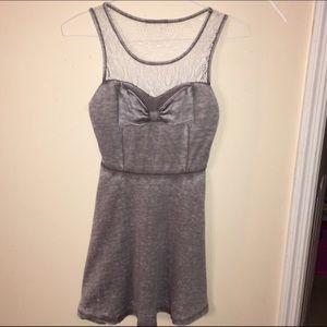 NEW SIZE SMALL WOMENS GRAy DRESS
