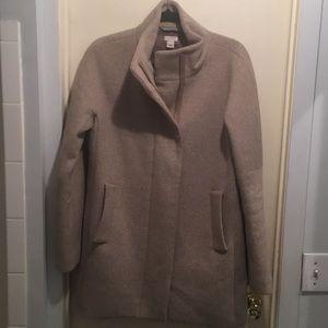 J. Crew City Coat in Heather Stone