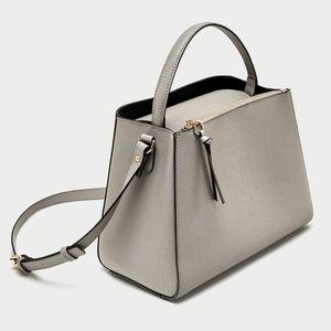 Zara Midi Tote Bag with Zip