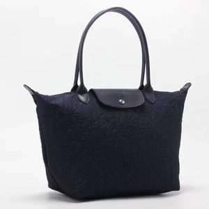 Brand New Longchamp Le Pliage Tote in Navy