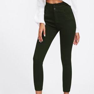 Skinny Ankle Pants hight waist