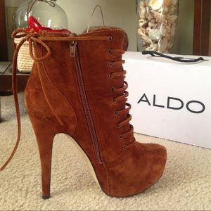 Suede Ankle Booties by ALDO
