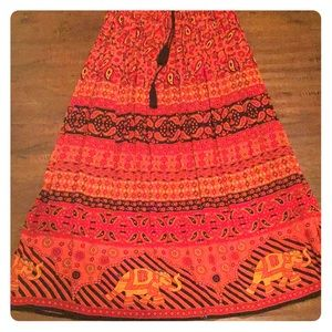 Indian skirt from World Market.