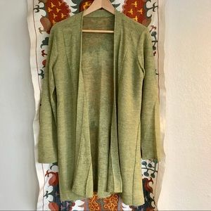 EILEEN FISHER delicate wool sweater. LAYERING!!