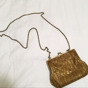 Vintage Gold Evening Purse