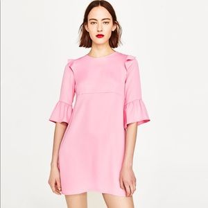 Pink Zara mini dress