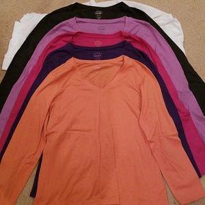 5 Old Navy Long Sleeve Shirts