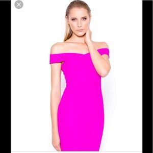 Lumier off the shoulder purple dress size XS NWT