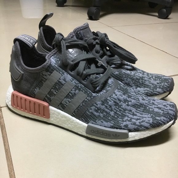 brand new 3733e 8b4af Adidas NMD Grey/Pink BRAND NEW/NEVER WORN NWT