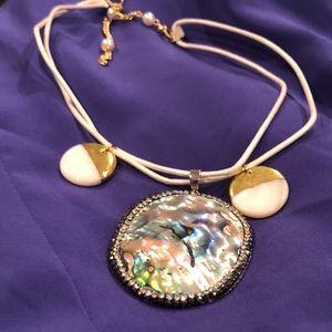 Abalone Shell Custom choker necklace