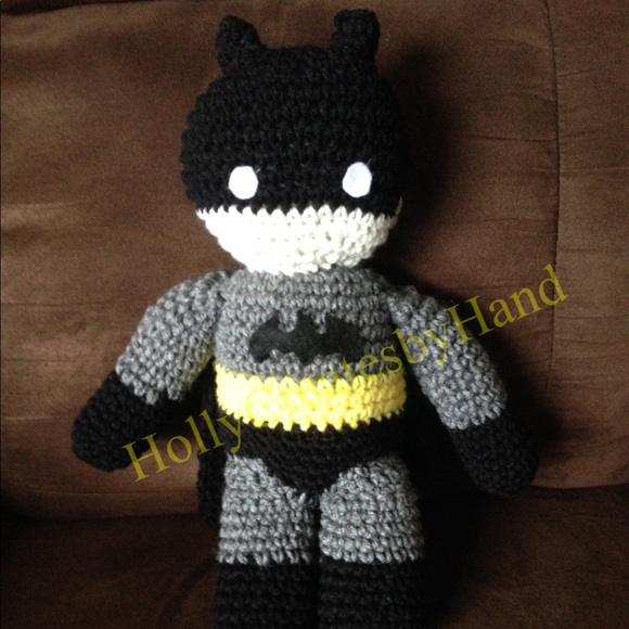 Batman | Crochet batman, Crochet dolls, Crochet patterns | 580x580
