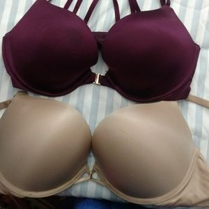 Victoria's Secret bras (TWO) size 34d