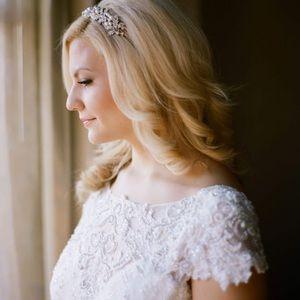 Simply Stunning Badgley Mischka wedding gown
