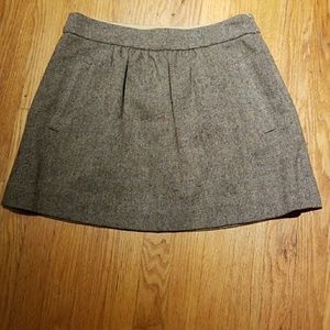 J.crew like-new 100% wool skirt.