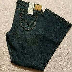 Levi's 545 Low Boot Cut stretch jeans