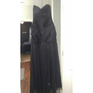 Black Vera Wang gown