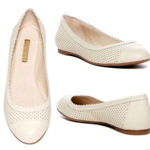 NIB Louise et Cie, Eilley Ballet Flat, 6.5, Cream