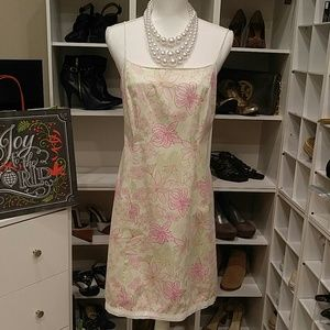 LILLY PULITZER FLORAL PRINT DRESS 10
