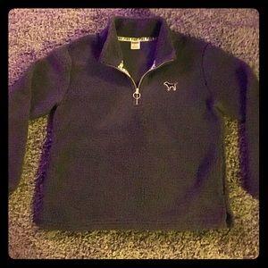 VS pink Sherpa sweatshirt
