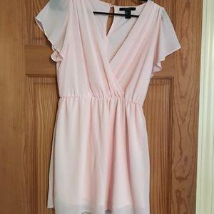Flowy Light Pink Forever 21 Dress
