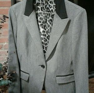 Grey blazer by Express