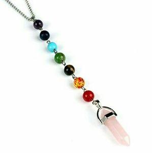 Rose Quartz Healing Pendulum