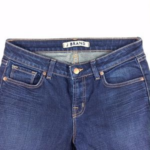 J Brand Scarlett Bootcut Dark Wash Jeans Size 30