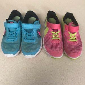 Nike Brand Girls shoes size 13C