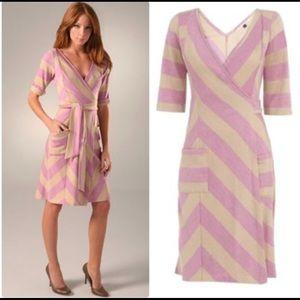 Diane von Furstenberg Benoit Wool Wrap Dress