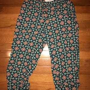American Rag Ruched legging capris lounger pants