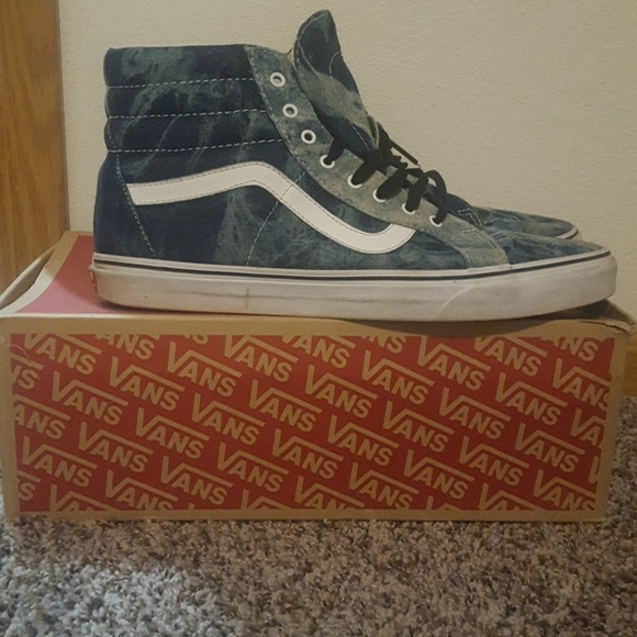 76df106941 Vans SK8 Hi Reissue (Acid Denim). M 5a3105023c6f9fd2e3003cb6. Other Shoes  ...