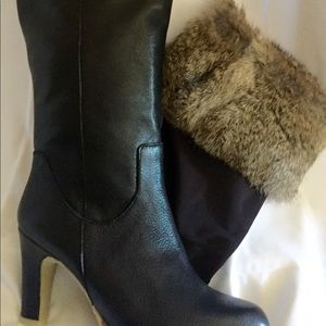 BCBG Max & Co. Chocolate Brown leather Boots