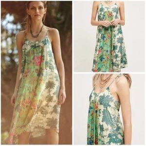 NWT MAEVE Large Santee Swing Dress TROPICAL Floral