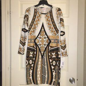 LuLaRoe Medium Elegant Debbie Dress