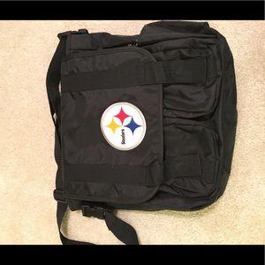 Steelers diaper bag